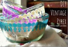 the look of vintage pyrex