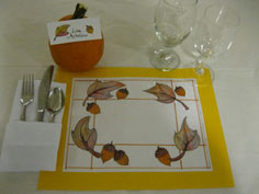 Thanksgiving Feast Placemat
