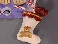 Paint a Bear Stocking
