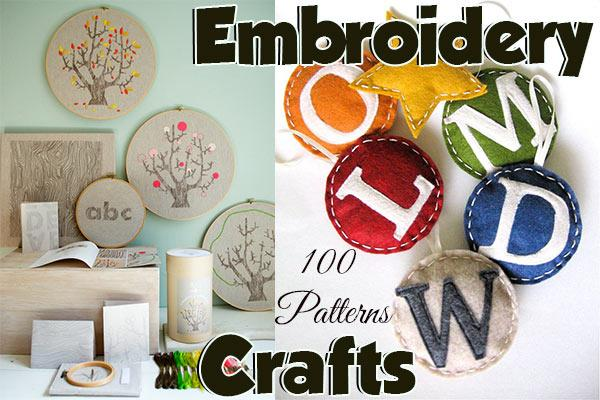 embroidery at CraftFreebies.com