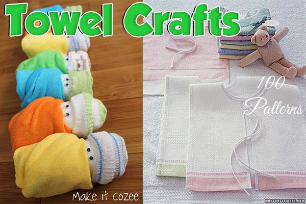 100 Towel Crafts Washcloth Crafts Craftfreebies Com