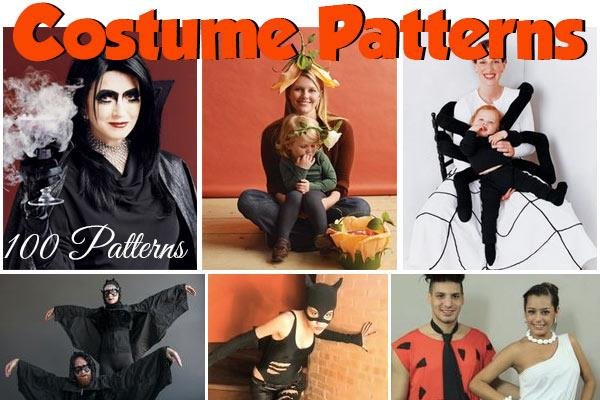 costume patterns at CraftFreebies.com