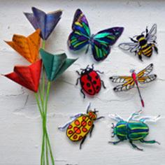 �Stained Glass� Insects