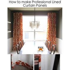 Window treatments free patterns for curtains and drapes for Professional window treatment patterns
